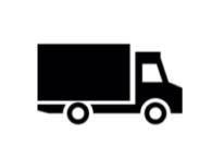 Transport ikon liten